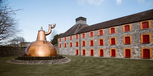 Outside Jameson Whiskey distillery